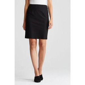 [Eileen Fisher] Stretch Crepe Knit Pencil Skirt